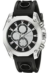Geneva Men's FMDJM511 Analog Display Quartz Black Watch