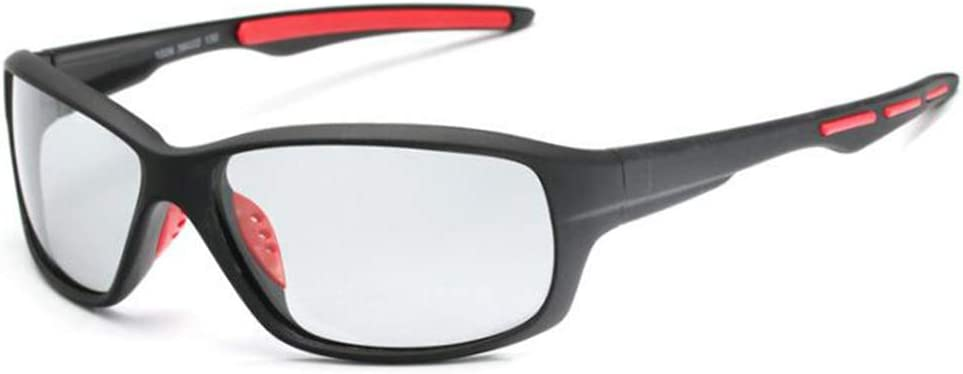 ZKAMUYLC SunglassesPesca polarizada Gafas de Sol fotocromáticas Hombres Ciclismo Senderismo conducción camaleón Gafas Hombre día Noche Gafas Lentes Sol Hombre: Amazon.es: Deportes y aire libre