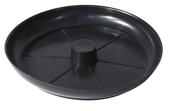 Paragüero metálico decorado con plato (Color)