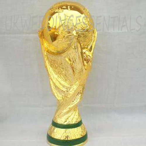 FULL SIZED 2KG REPLICA WORLD CUP TROPHY FOOTBALL SAME AS THE ORIGINAL NEW GIFT