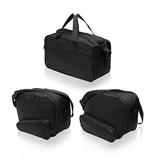 Motorradkoffer-Innentaschen-Set passend zu Gepäck, System-Seitenkoffern und Top Case BMW K1200GT, R1200RT, R1250RT…