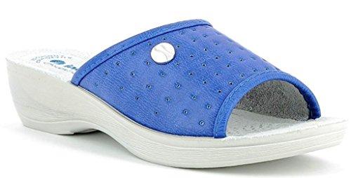 INBLU PANTOFOLE CIABATTE SANITARIE DONNA mod. PL-40 jeans