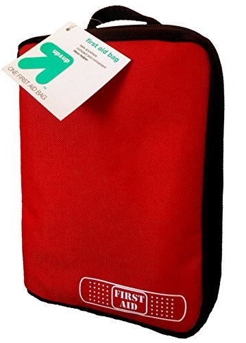 Fill Unit First Aid Kit ((Pack of 3) First Aid Kit Empty Bag by Target up&up Hero Helper.Take Anywhere Compact and Convenient for Camping, Hiking, Perfect Survival Kit Addition)