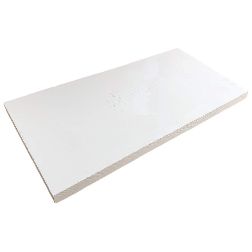 PUR Schamotte /® Brandschutzplatte 500x610x30mm
