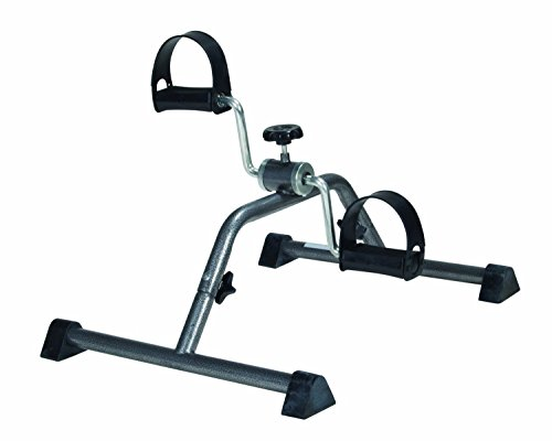 Drive Medical Pedal Exerciser with Attractive Silver Vein Finish, Silver Vein,Stimulates - Store Me Near Clay