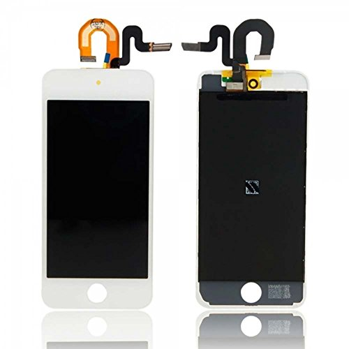- Touch Screen Digitizer and LCD for Apple iPod Touch 5 and iPod Touch 6 - White (A1509, A1421, A1574)