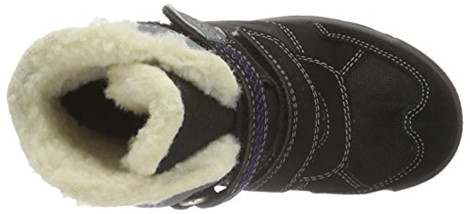 Ricosta Boys' Kiehn Warm-Lined Short-Shaft Boots and Bootees black Size: 1