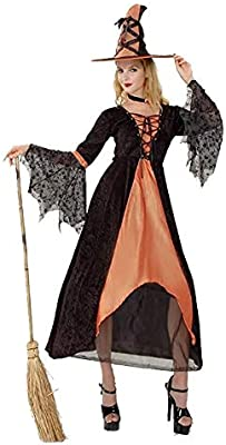 LXDdjws Aida Bz Disfraz de Bruja para Halloween, Disfraz de Bruja ...