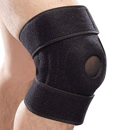 ac6e77a240 Image Unavailable. Image not available for. Color: Mallofusa Knee Pads  Support Open-Patella Knee Sleeve ...