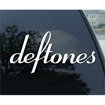 Deftones decal rock band car truck window sticker 6 2 pack any