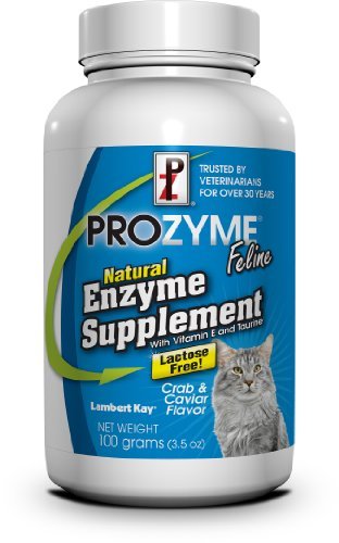 Lambert Kay Prozyme Feline Natural Enzyme Supplement, 100gm, My Pet Supplies