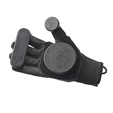 Triple 8 Sliders Longboard Gloves (Black, X-Small)