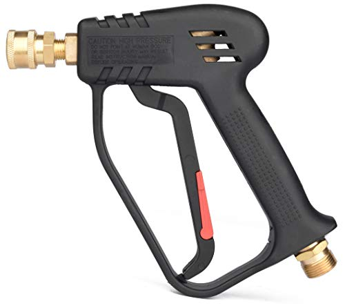 McKillans Pressure Washer Gun Replacement M22 Inlet Compatible with Snow Foam Cannons Equipped with 1/4