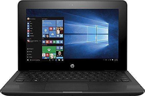 HP X360 11-AB011DX 11.6-Inch Touchscreen 2-in-1 Convertible Premium HD Laptop (Intel celeron N3060, 4GB RAM, 32GB eMMC, Windows 10 Home) Black by HP (Image #3)