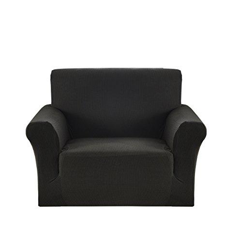chair Slipcover Soft Elastic Black ()