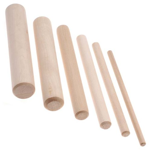 Wooden Mandrel Set For Wire Forming 6pcs-