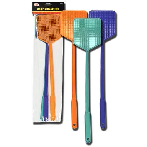 Plastic Fly Swatter - JMK 02920 Fly Swatter Set 3-Piece