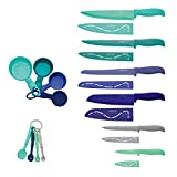 Farberware Resin Cutlery Set, 23 Piece, Multicolor Cool