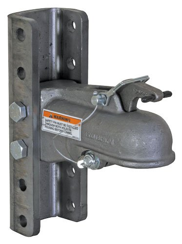 Buyers Products (0091545 2' Channel Mount Heavy Duty Cast Coupler with 5 Position Channel and Fasteners