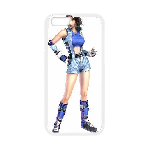 Asuka Kazama Tekken 9 coque iPhone 6 4.7 Inch Housse Blanc téléphone portable couverture de cas coque EBDOBCKCO15010