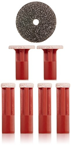 PMD Personal Microderm Replacement Discs, Red Coarse