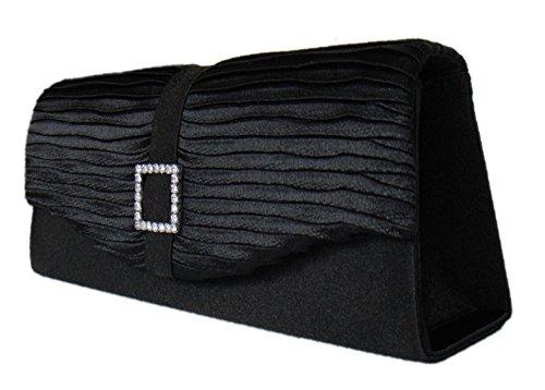 Damen Abendtasche,Handtasche,Clutch Bag Schwarz