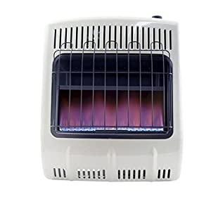 Mr. Heater, Corporation Mr. Heater, 20,000 BTU Vent Free Blue Flame Propane Heater, MHVFB20LPT