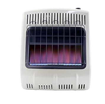 Amazon.com: Calefactor de propano con llama azul sin ...