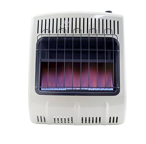 Mr. Heater Corporation F299721, Corporation, 20,000 BTU Vent Free Blue Flame Natural Gas Heater, MHVFB20NGT