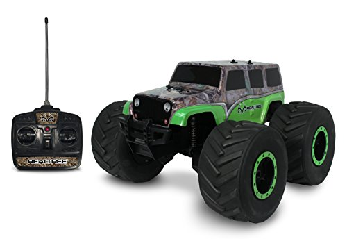 NKOK 1:8 Realtree Extreme Terrain Rtr RC Jeep Wrangler Unlimited Remote Control Toy 27mhz Toys Radio Controlled