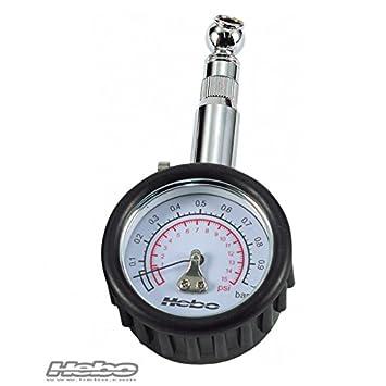 HEBO - HH8310 : Reloj manometro medidor presion neumaticos 1 Kg TRIAL/QUADS: Amazon.es: Coche y moto