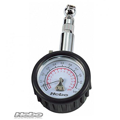 Indicatore manometro pressione gomme 1 Kg TRIAL/QUADS HEBO