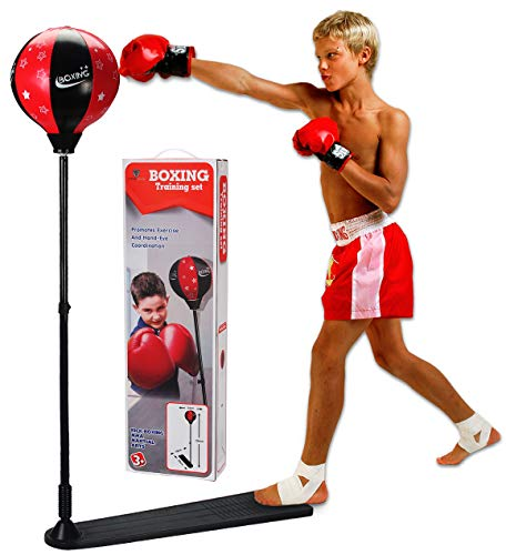 ViperGear Punching Bag for Kids - Kids Boxing Gloves and Punching Bag with Stand for Kids - Boxing Gloves Set
