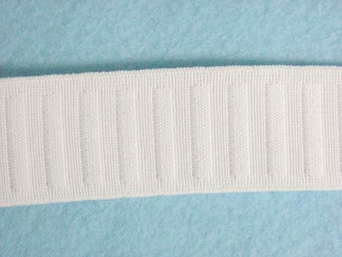 Non Flat Roll (Wholesale Flat Woven Non Roll Elastic - White 1 1/4