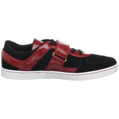 Creative Recreation Mens Pinelli Sneaker Black/Red QCaKcZ343