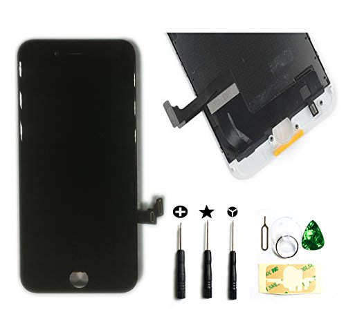 Price comparison product image ZTR Black LCD Display Touch Digitizer Screen Assembly Replacement for iPhone 7 4.7 inch