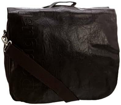 Desigual Notebooktasche Meletin S 21X56006047U - Bolso al hombro para hombre, color marrón, talla one size