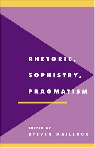 Image for publication on Rhetoric, Sophistry, Pragmatism (Literature, Culture, Theory)