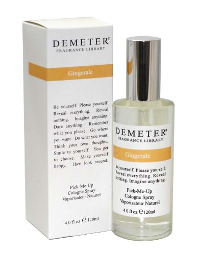Demeter Cologne Spray, Gingerale, 4 Ounce ()