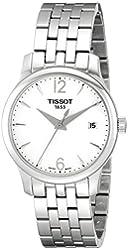 Tissot Women's T0632101103700 Tradition Analog Display Quartz Silver Watch