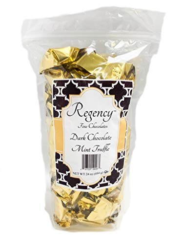 Regency Fine Chocolate Truffles, Dark Chocolate Mint, 60 - Truffles Mint Dark Chocolate