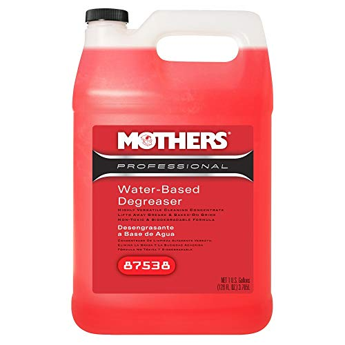 (Mothers 87538 Professional Water-Based Degreaser, 1 Gallon)