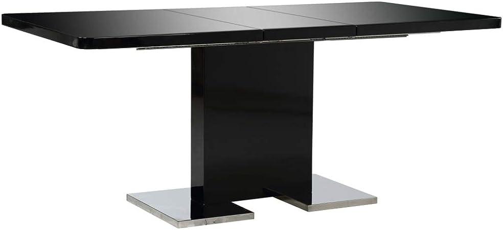 vidaXL Table à Dîner Extensible Table de Salle à Manger ...