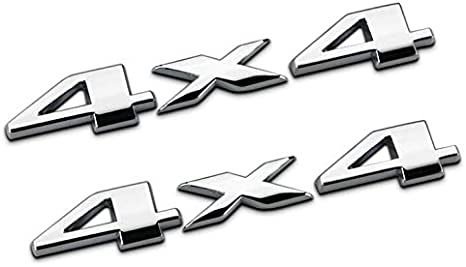 Auto Tuning 4 X 4 Chrome Logo 3d Decal Emblem Logo Sticker Liberty Nameplate Badge +Limited Trunk Hood Door for Ford Jeep Grand Cherokee Wrangler Compass 1set Yoaoo-oem/® 2pcs Chrome 4x4+Limited