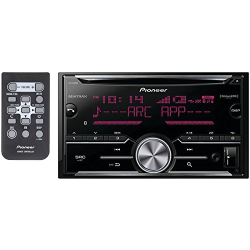 Pioneer FH-X730BS Vehicle Cd Digital Music Player Receivers, Black]()