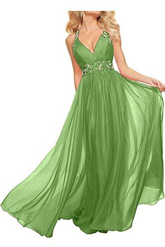 Rosa Langes La Olive A Promkleider Chiffon mia Jugendweihe Ballkleider Linie Gruen Partykleider Braut Rock Kleider Abendkleider tw6Erxw4q