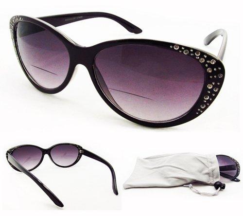 Eyeglass Frames Virginia Beach : SOOLALA Womens Fashion Designer Rhinestone Cat Eye ...