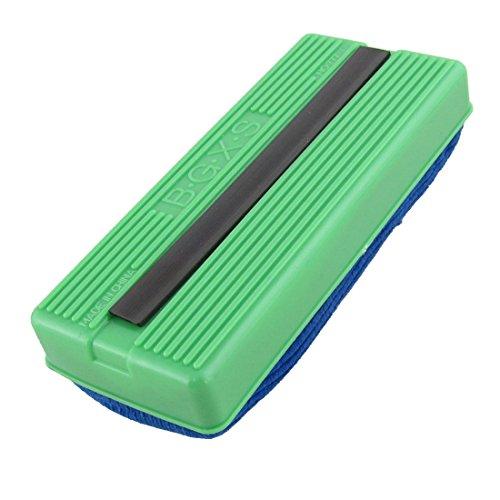 Uxcell Magnet Velvet Chalk Blackboard Eraser/Cleaner, Navy Blue Green