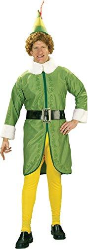 Buddy the Elf Adult Costume - Standard - Movie Elf Costume