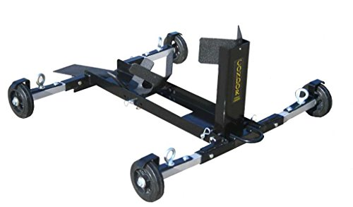 Trailer Stand with 3 FREE pairs of Ratchet Tie-Down Straps Condor Motorcycle Cycle Loader wheel chock